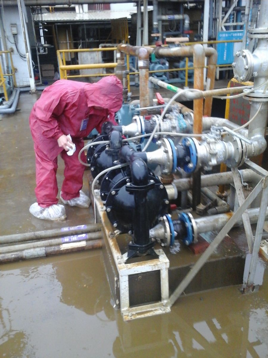 Sewage treatment - maintenance